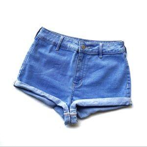 Kendal & Kylie Size 26 High Waist Jean Shorts